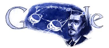 Google Logo: Yuri Kondratyuk 115th birthday - Ukranian scientist