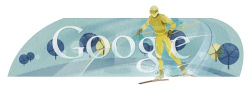 Олимпийский логотип Google от 15 февраля 2010