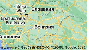 Венгрия: карта
