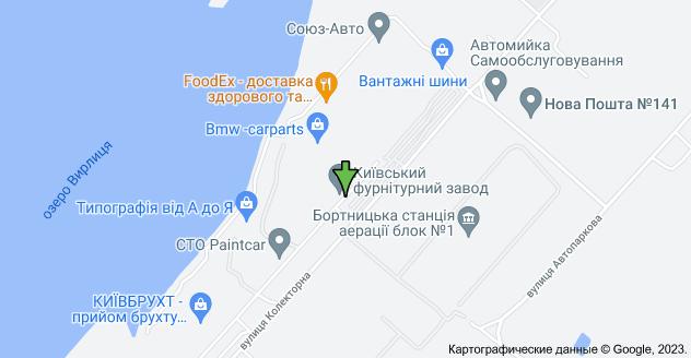 вулиця Колекторна, 30, Київ: карта