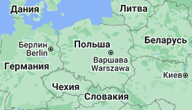 Польша: карта